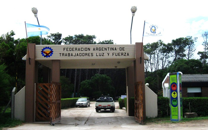 Camping de la Federación Argentina de Trabajadores de Luz y Fuerza en Claromecó