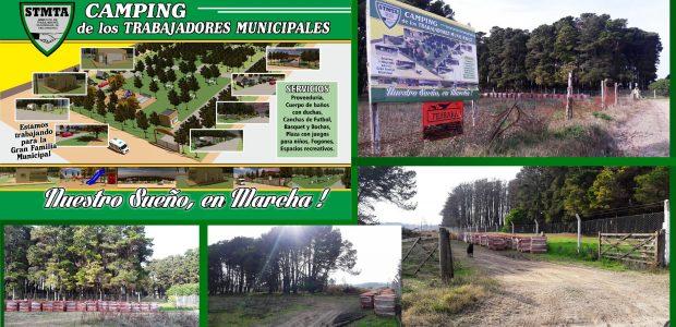 Comienzan  los trabajos en el camping de Claromecó