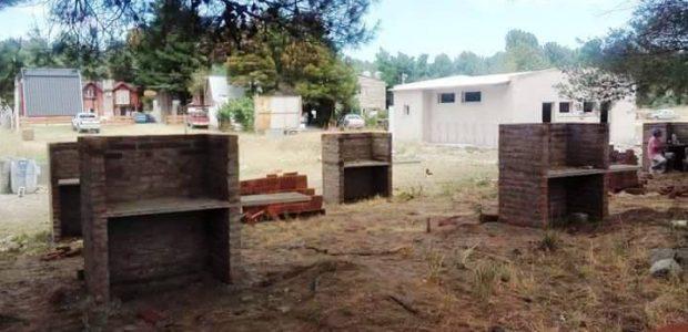 Avanzan las obras en el camping del Sindicato de Trabajadores Municipales