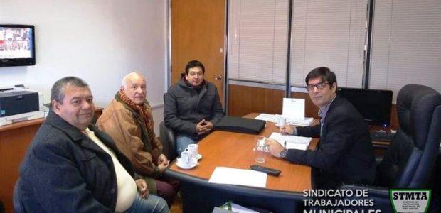 Importante reunión con el Jefe de Gabinete del IPS en La Plata